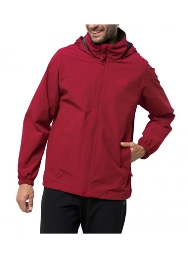 Jack Wolfskin Stormy Point Softshell Erkek Yağmurluk - 1111141-2049 Kırmızı